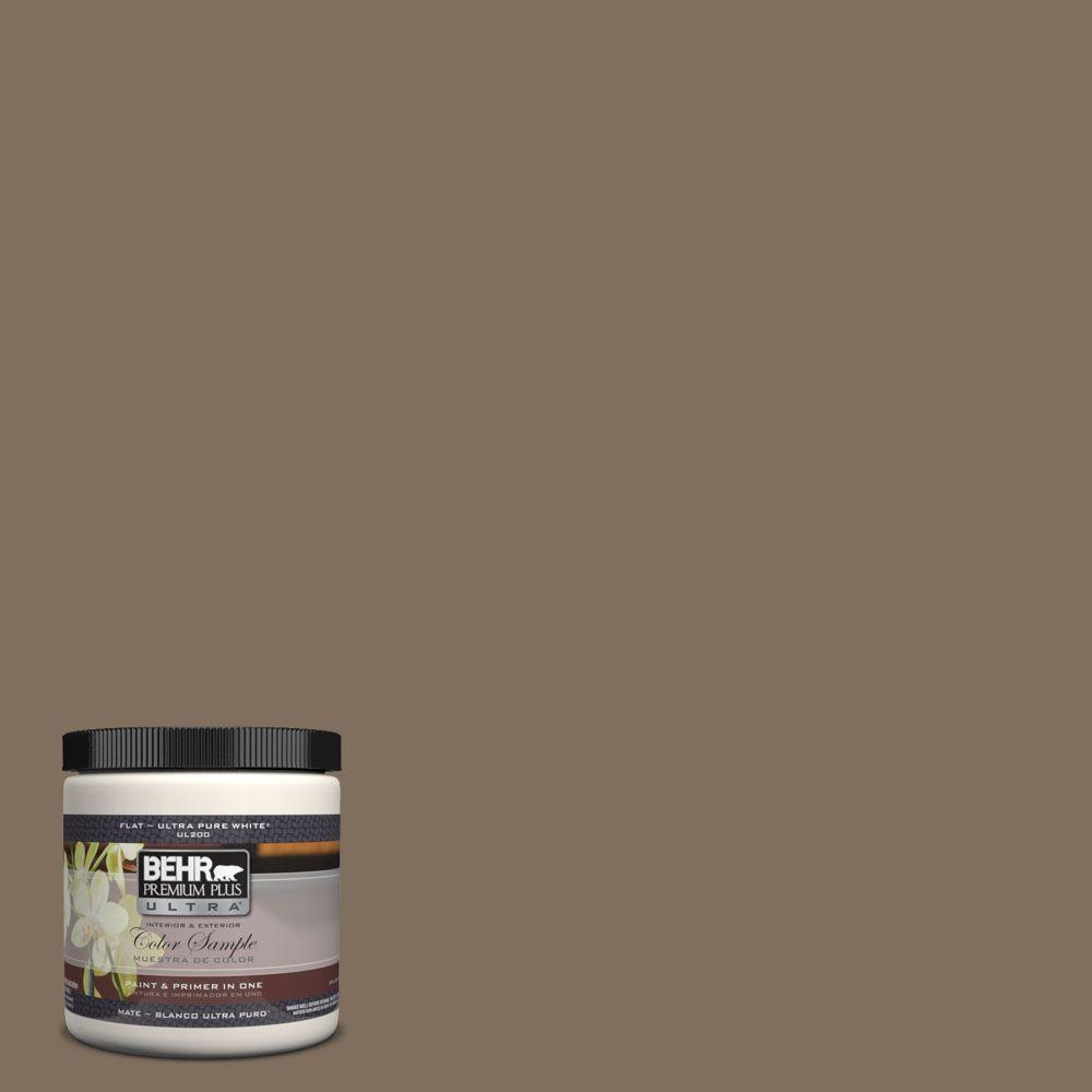 Ul160 21 Mocha Latte Matte Interior Exterior Paint And Primer In One Sample