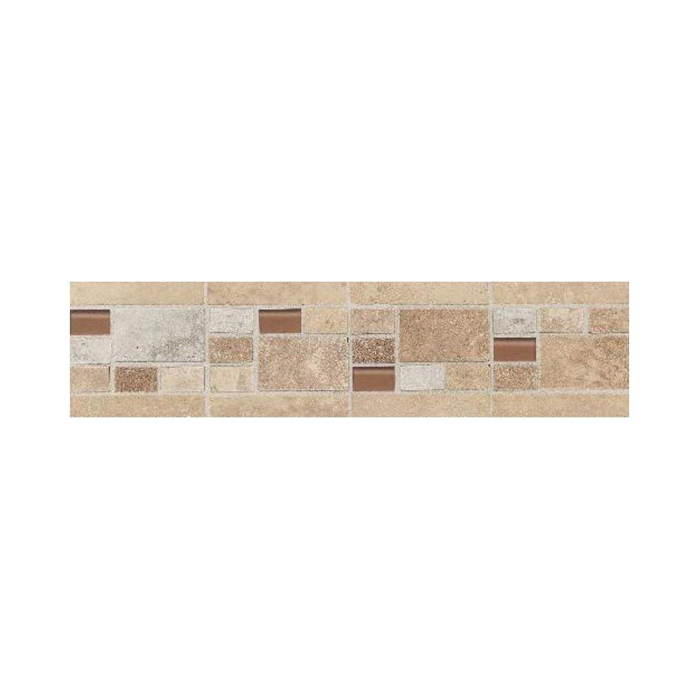 Daltile salerno universal 3 in x 12 in glazed ceramic decorative daltile salerno universal 3 in x 12 in glazed ceramic decorative wall tile dailygadgetfo Image collections