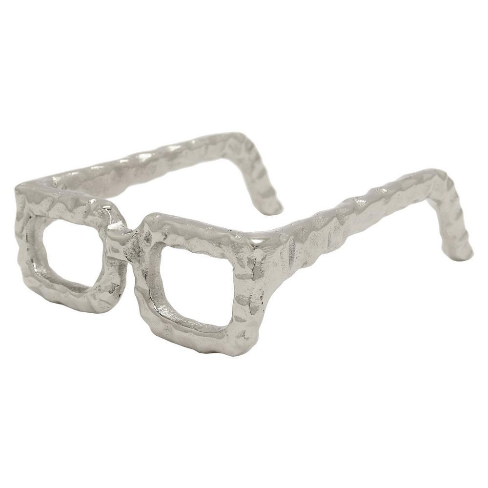 6 in. x 7.5 in. Eye Glass Square Frame in Silver