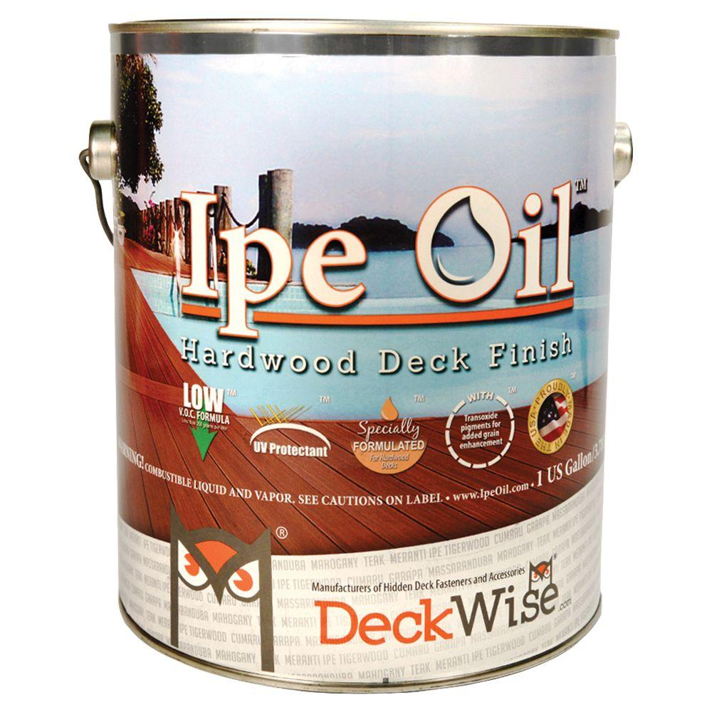 DeckWise Ipe Oil Hardwood Deck Finish 1 gal  Natural Wood Oil Based Exterior  Water RepellingDeckWise Ipe Oil Hardwood Deck Finish 1 gal  Natural Wood Oil  . Exterior Wood Deck Sealer. Home Design Ideas