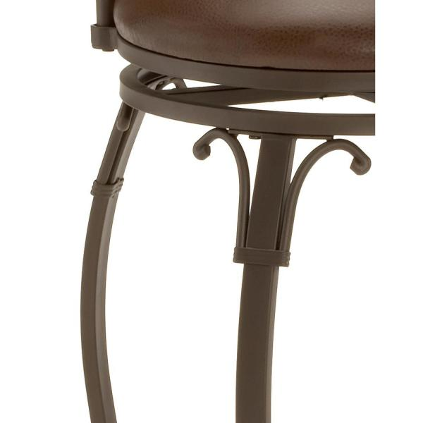 Slate Accent Brown 4264-830 Hillsdale Furniture Lakeview Swivel Bar Stool