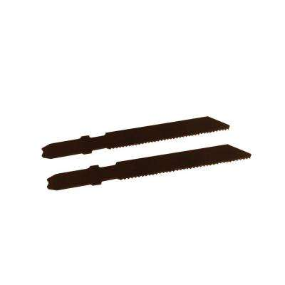 2-3/4 in. 21 Teeth per in. High Speed Steel Jig Saw Blade (2-Pack)