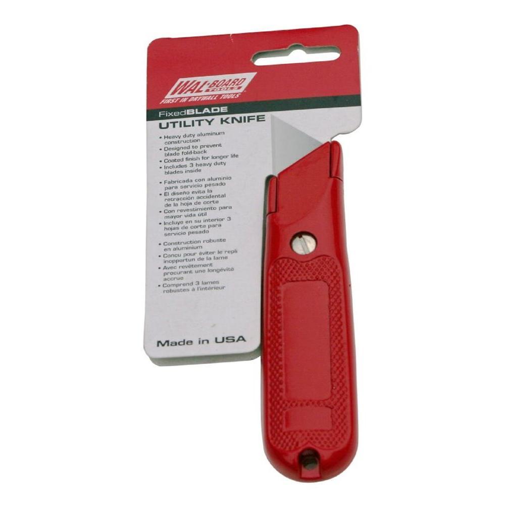 Fixed-Blade Utility Knife