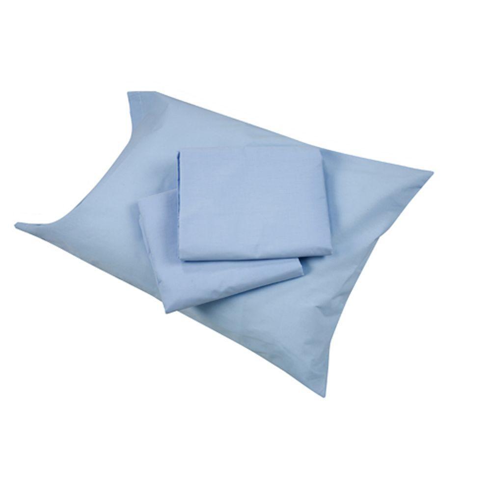 MABIS Hospital Bedding Sheet Sets in Blue