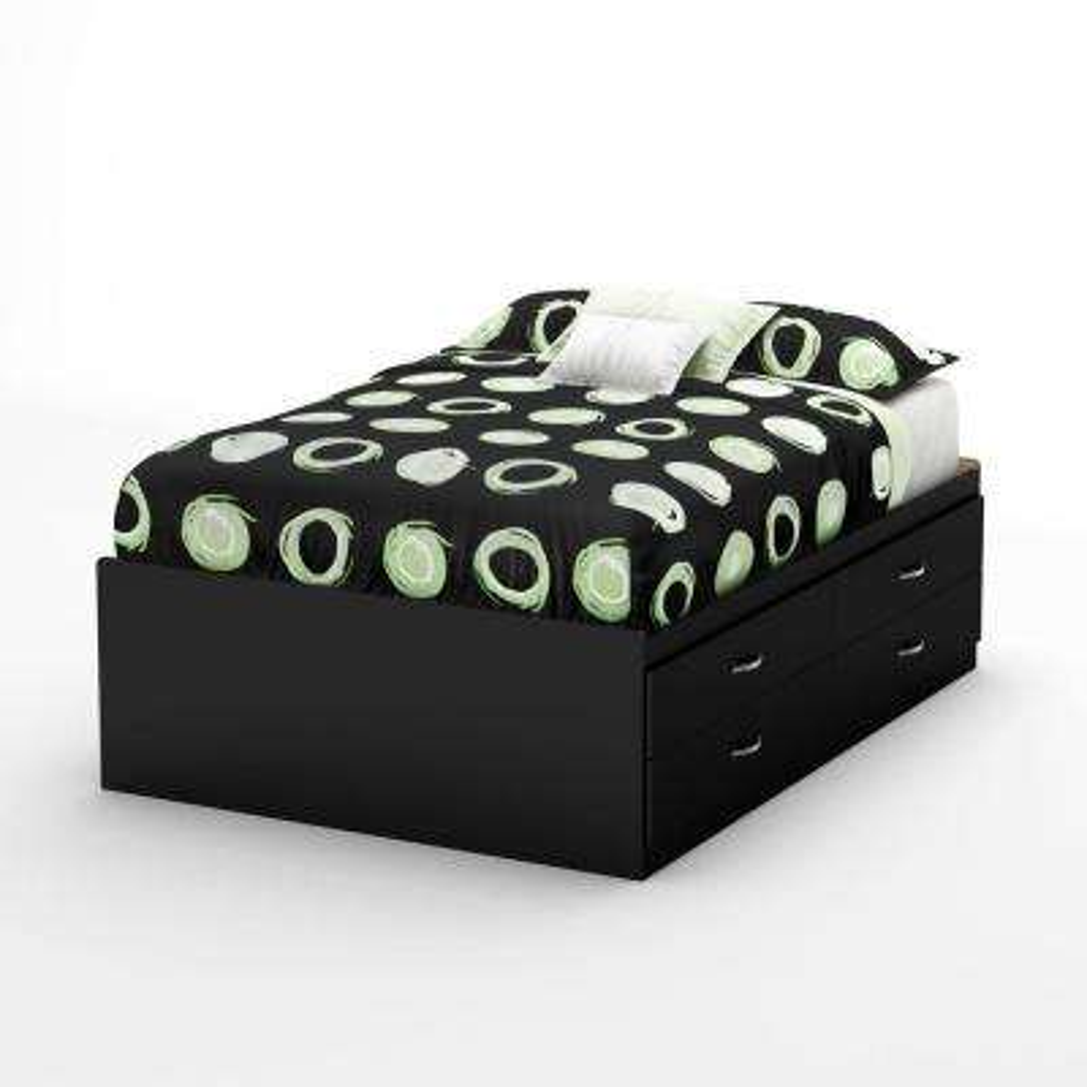 Step One Full Storage Bed