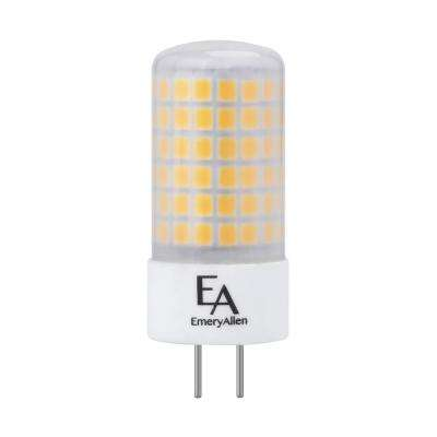 60-Watt Equivalent GY6.35 Base Dimmable 4000K LED Light Bulb (2-Pack)