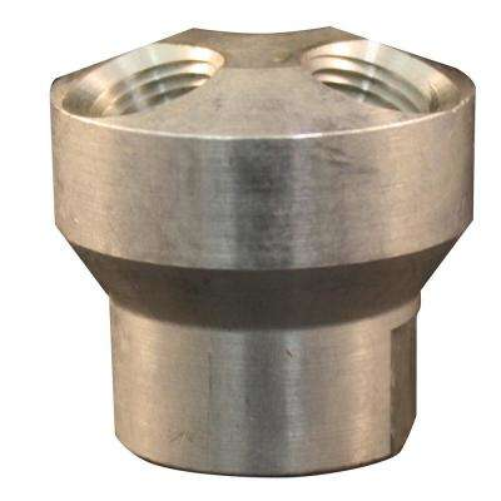 3- in-1 3/8 in. FNPT Aluminum Hose Manifold