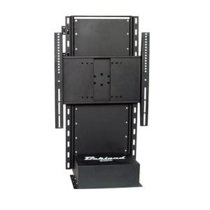 Bekland liftrack series 20 in 42 in flat panel tv free for Motorized tv lift with swivel