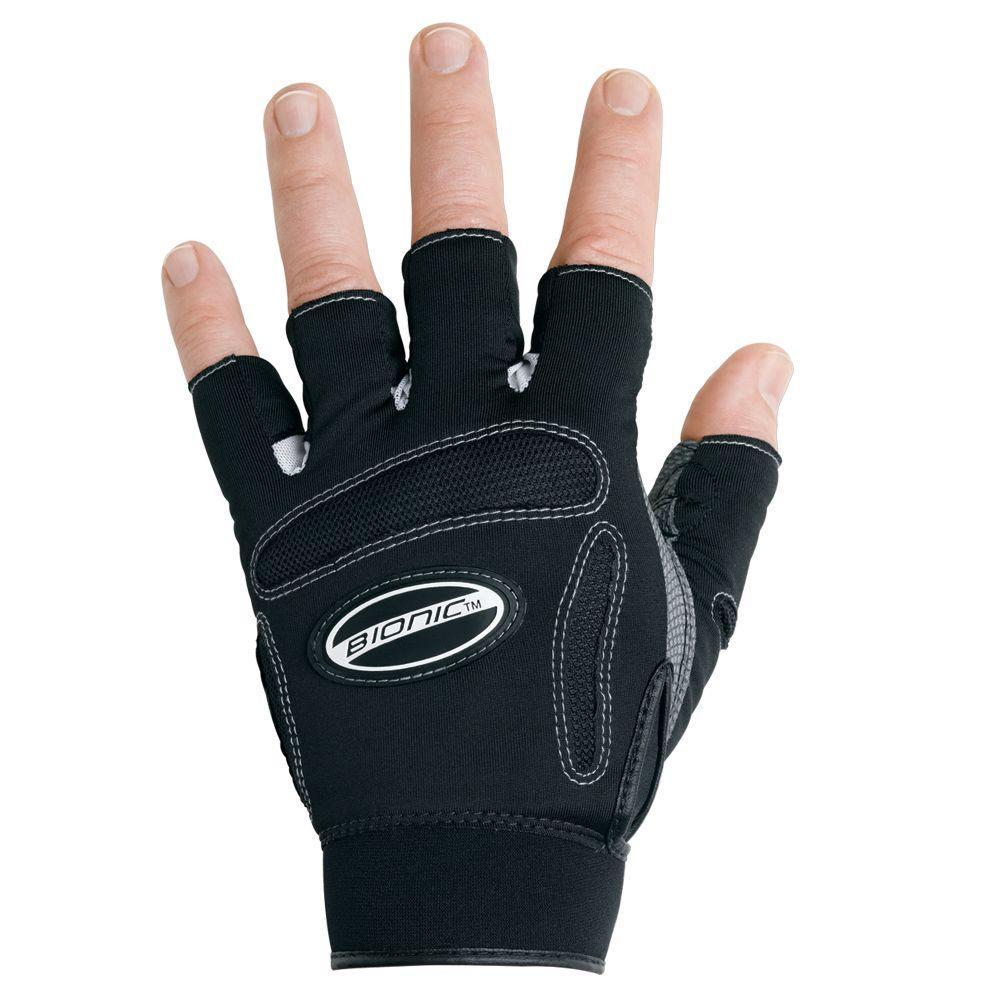 Bionic Glove Fitness Gloves Half Finger Men's Large-DISCONTINUED