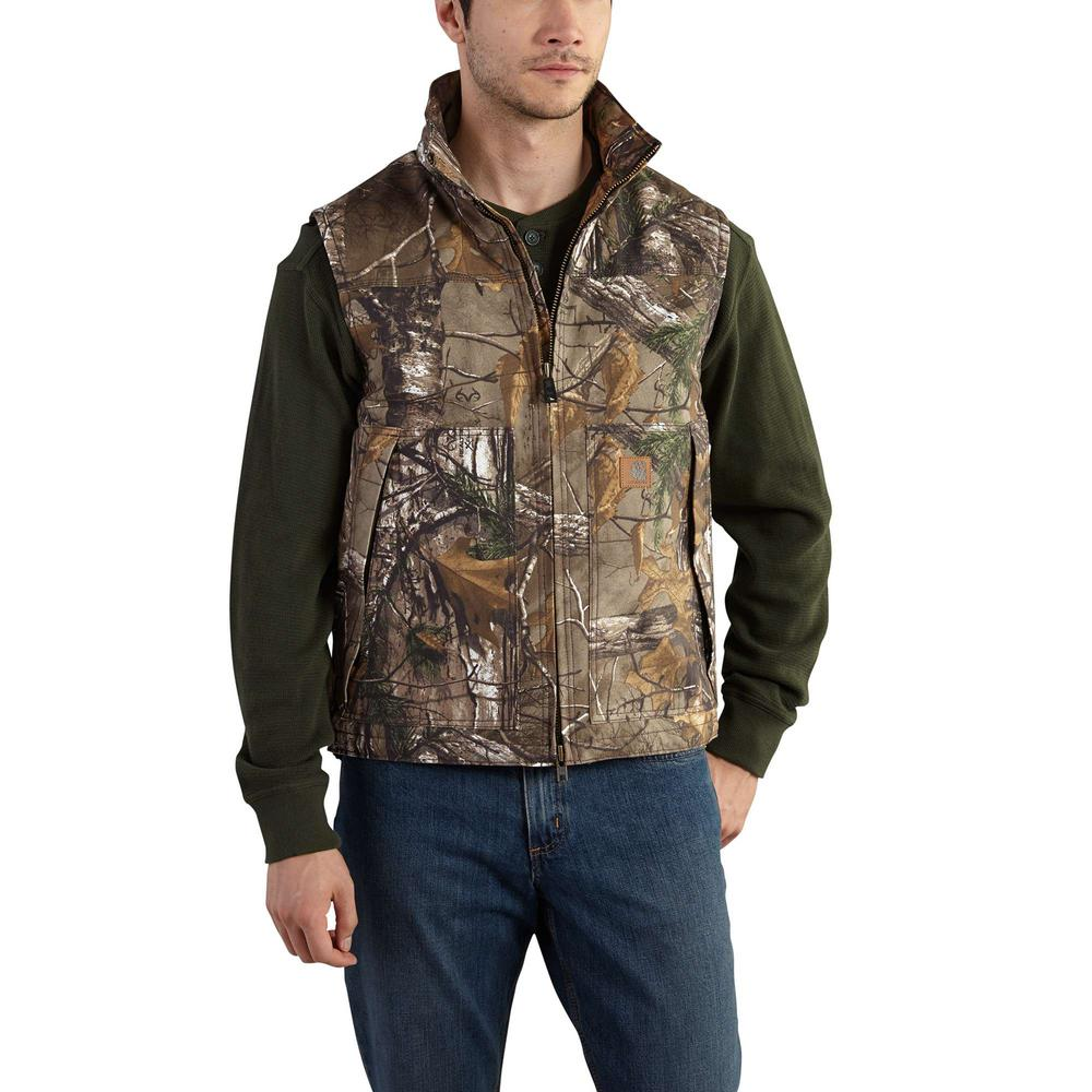 Men's Regular Medium Realtree Xtra Cotton/Polyester Vest