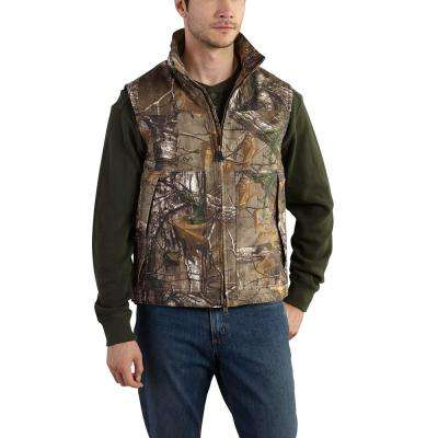 Men's Regular X Large Realtree Xtra Cotton/Polyester Vest
