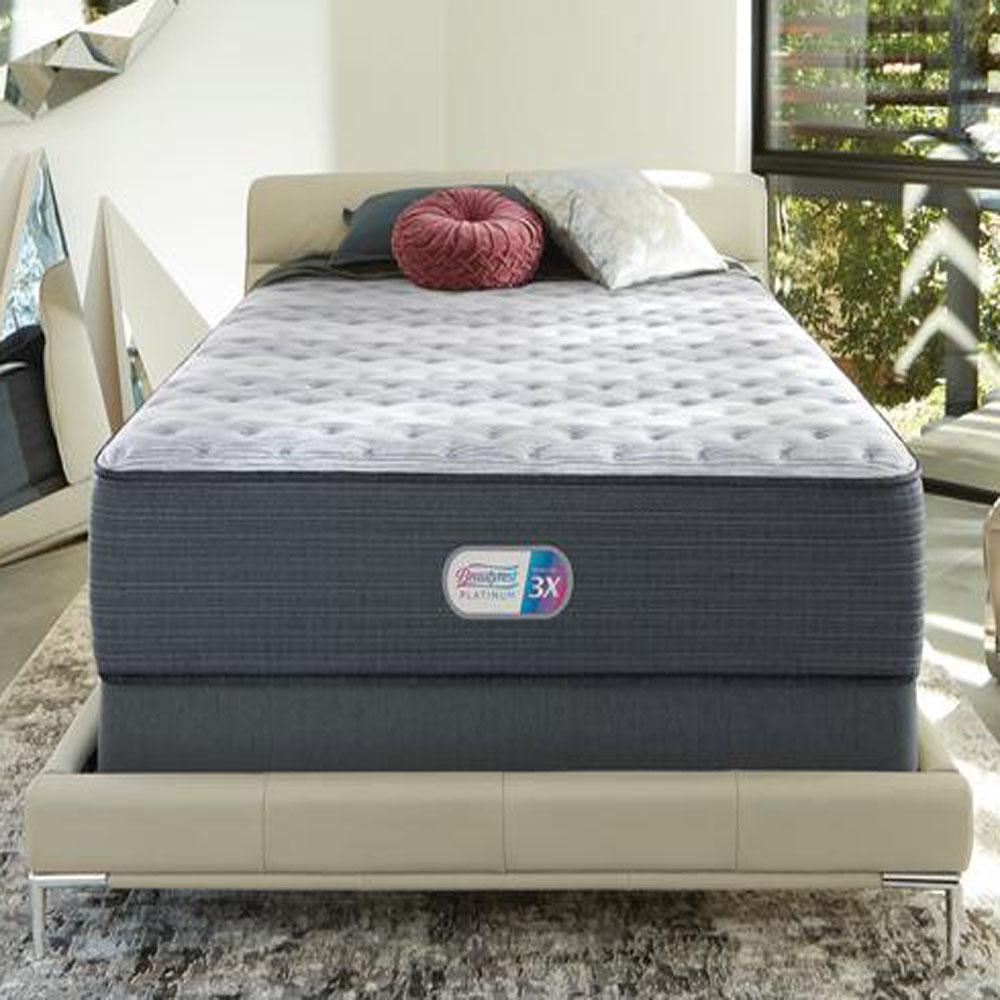Platinum Haven Pines 17in. Medium Hybrid Pillow Top California King Mattress