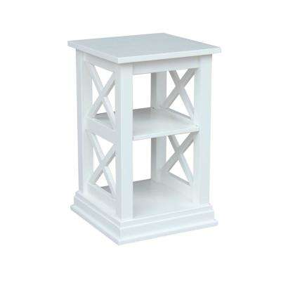 Hampton Pure White Side Table