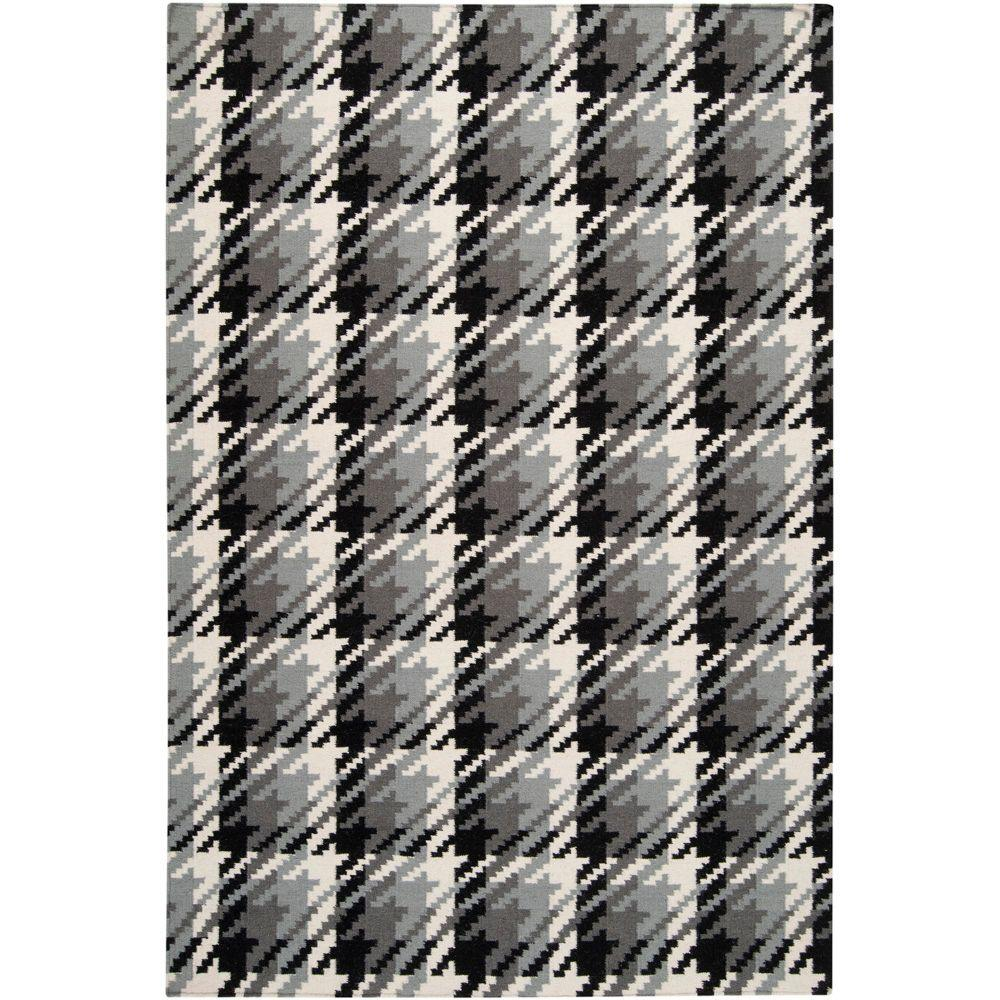 Karachi Foggy Blue 8 ft. x 11 ft. Flatweave Area Rug