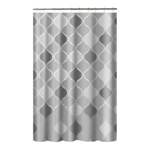 Creative Home Ideas Printed PEVA Lisse 70 inch W x 72 inch L Shower Curtain with Metal... by Creative Home Ideas