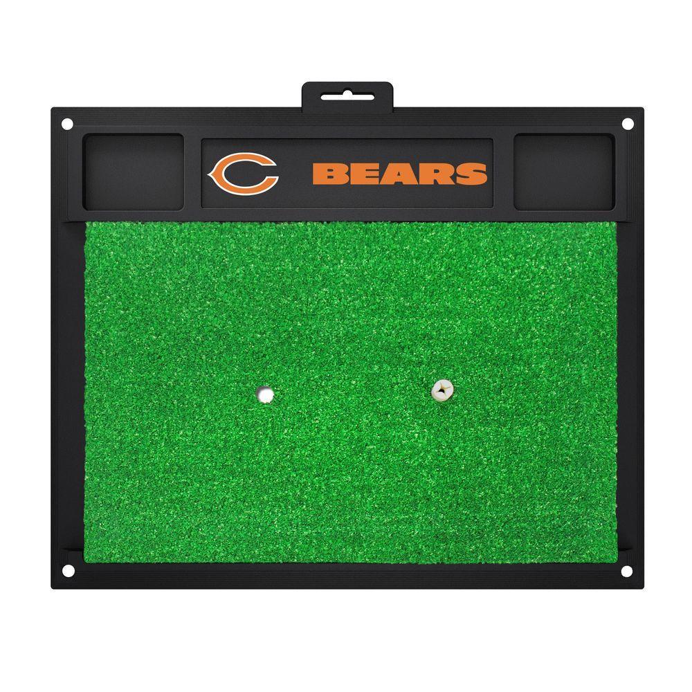 NFL Chicago Bears 17 in. x 20 in. Golf Hitting Mat