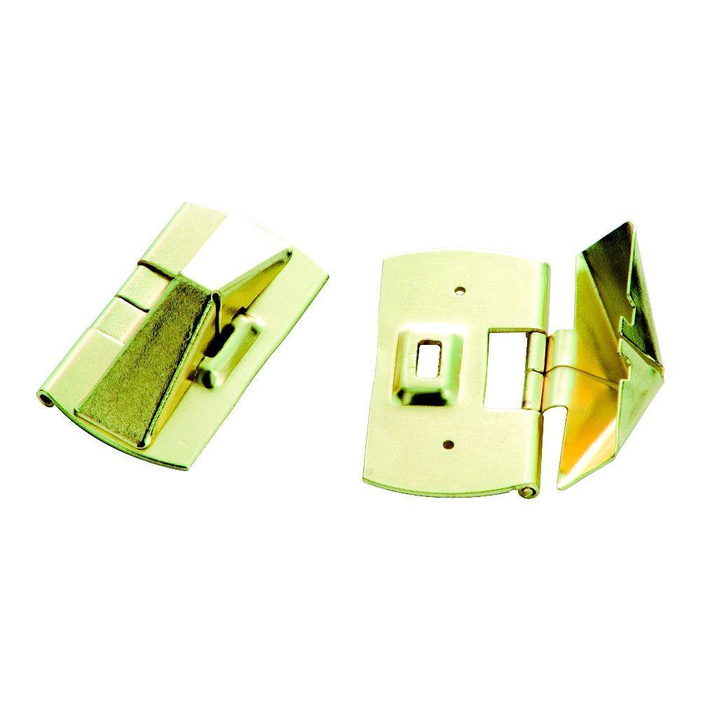 Polished Brass Window Vent Lock 2 Pack