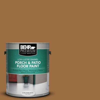 1 gal. #S250-6 Desert Clay Low-Lustre Porch and Patio Floor Paint