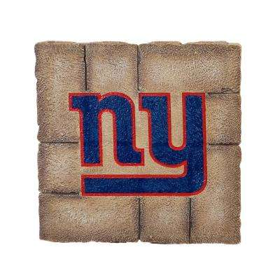 New York Giants 12 in. x 12 in. Decorative Garden Stepping Stone