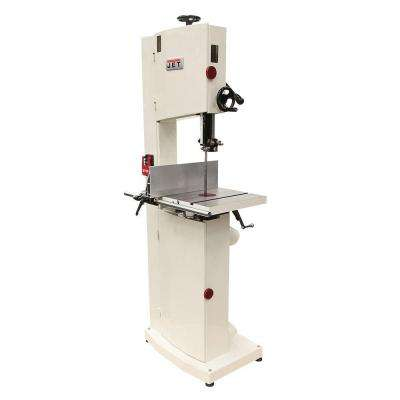 1.75 HP 14 in. Woodworking Vertical Band Saw with Steel Frame, 115/230-Volt, JWBS-14SF