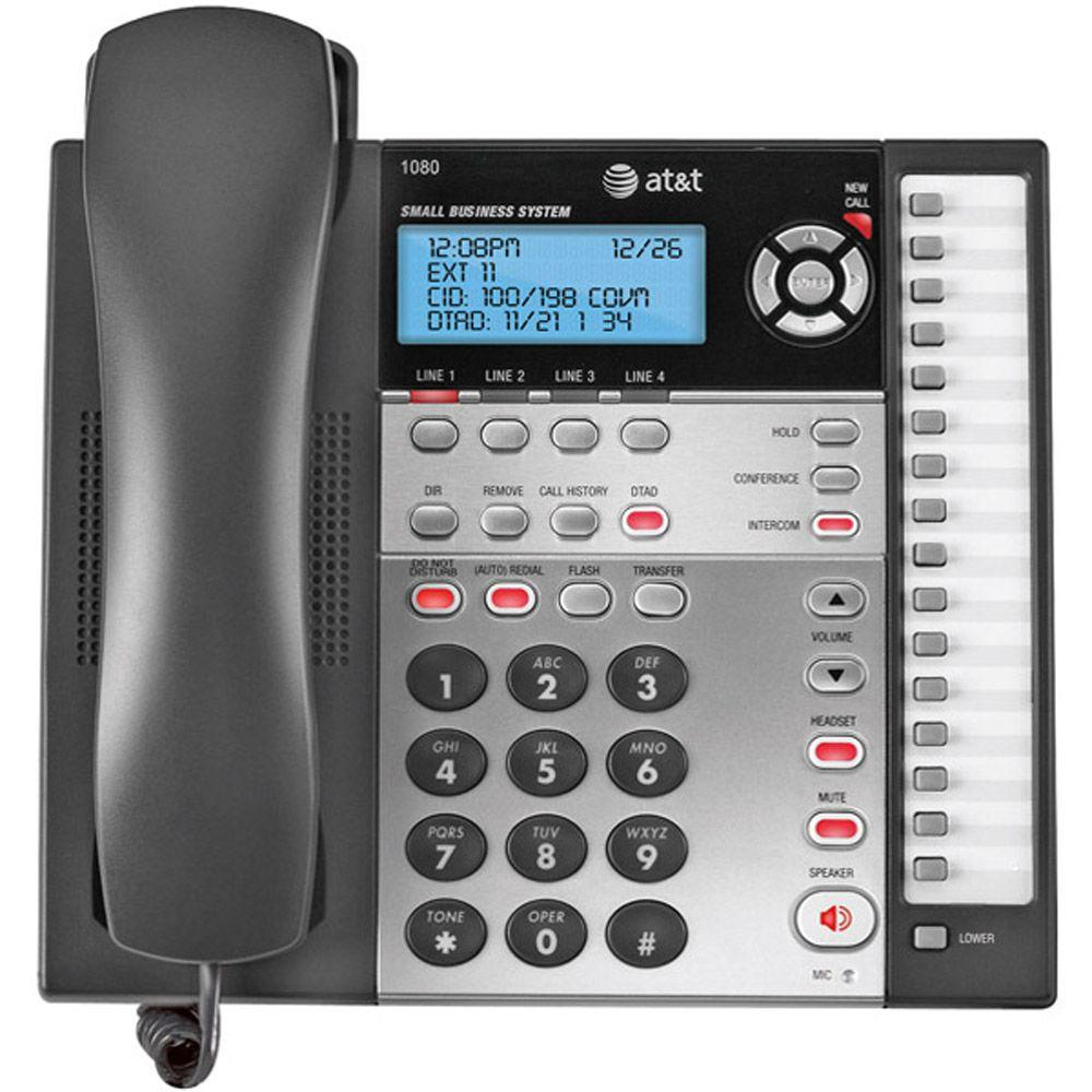 4-Line Speakerphone with Caller ID, Call Waiting, ITAD and Auto-Attendant