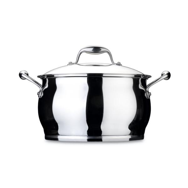 BergHOFF Essentials 7 Qt. Stainless Steel Covered Stockpot 1100174