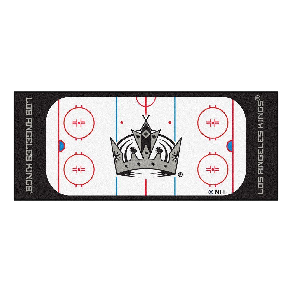Los Angeles Kings 2 ft. 6 in. x 6 ft. Rink