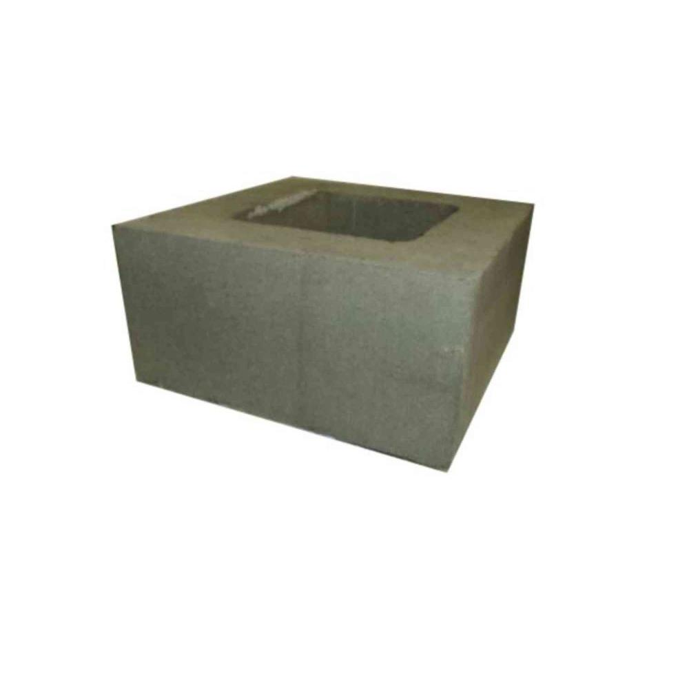 8 In. X 8 In. X 16 In. Concrete Chimney Block-201150