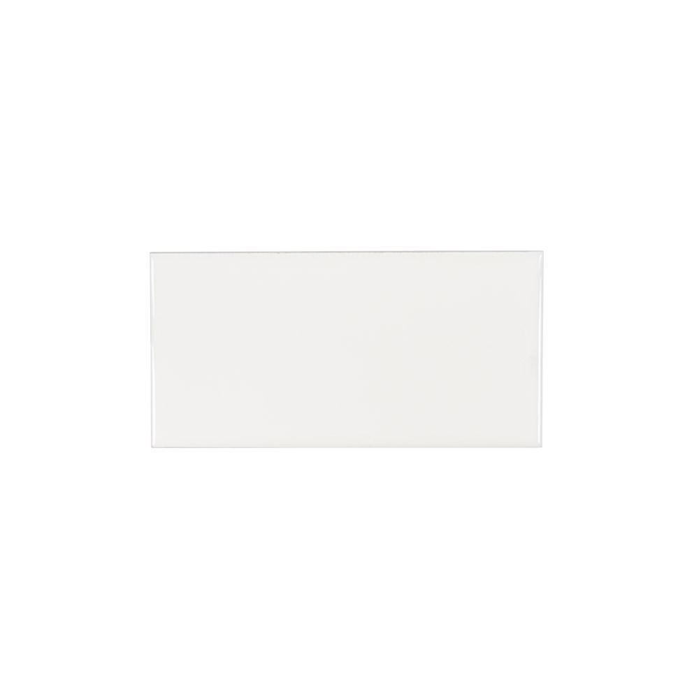 Jeffrey Court Royal Cream 3 in. x 6 in. Ceramic Field Wall Tile (12.5 sq. ft. / case)