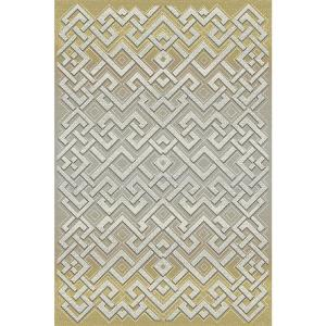 Dynamic Rugs Royal Treasure Amber/Mocha 6 ft. 7 inch x 9 ft. 6 inch Indoor Area Rug by Dynamic Rugs