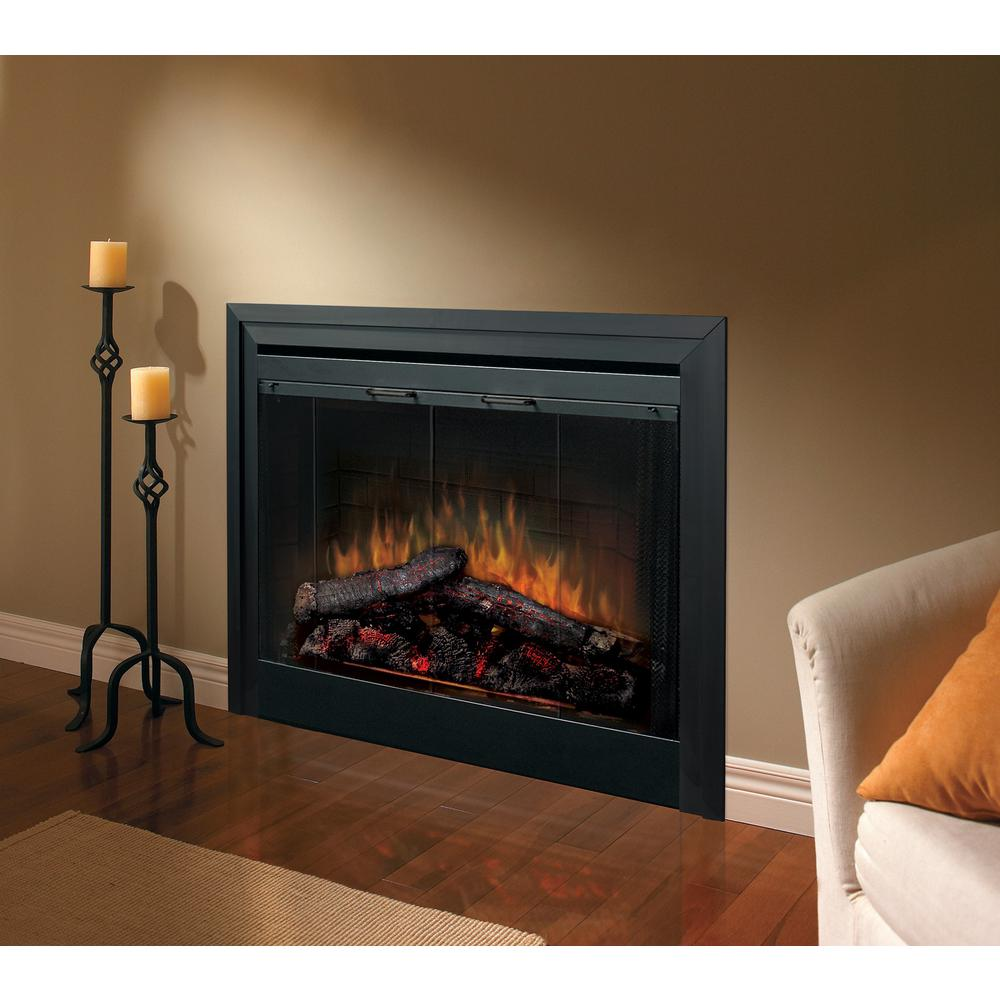 Terrific Dimplex 33 In Deluxe Built In Electric Fireplace Insert Interior Design Ideas Grebswwsoteloinfo