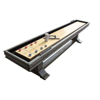Montecito 12 ft. Shuffleboard Table in Driftwood