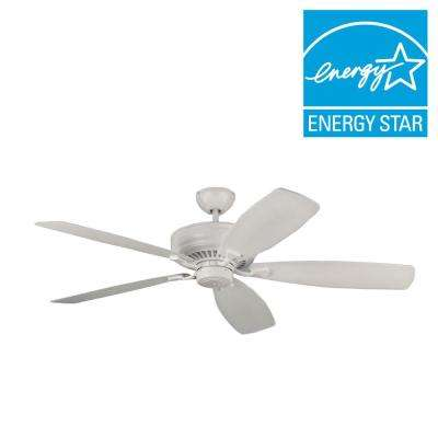 Bonneville Max 60 in. Rubberized White Ceiling Fan