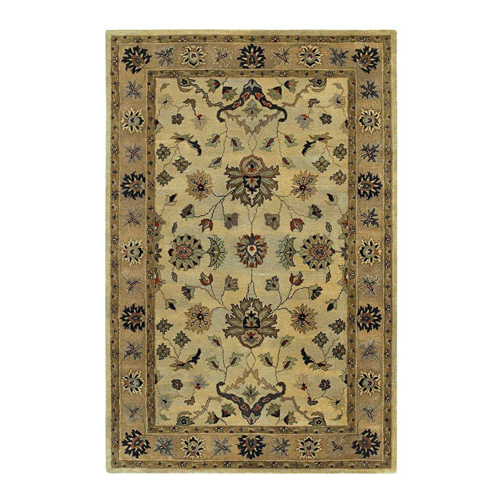 Kaleen Presidential Picks LaRoache Sable 3 ft. 6 in. x 5 ft. 6 in. Area Rug-DISCONTINUED