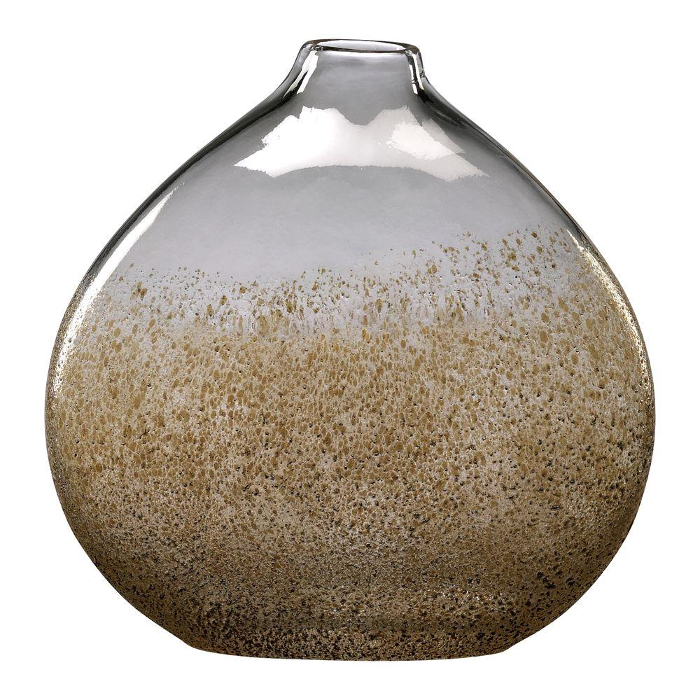 Filament Design Prospect 10 in. x 10 in. Russet And Gold Dust Vase