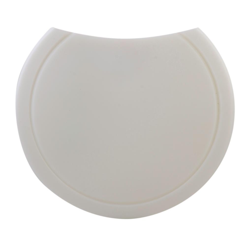 ALFI BRAND 15 in. Polyethylene Cutting Board in White for AB1717DI-W