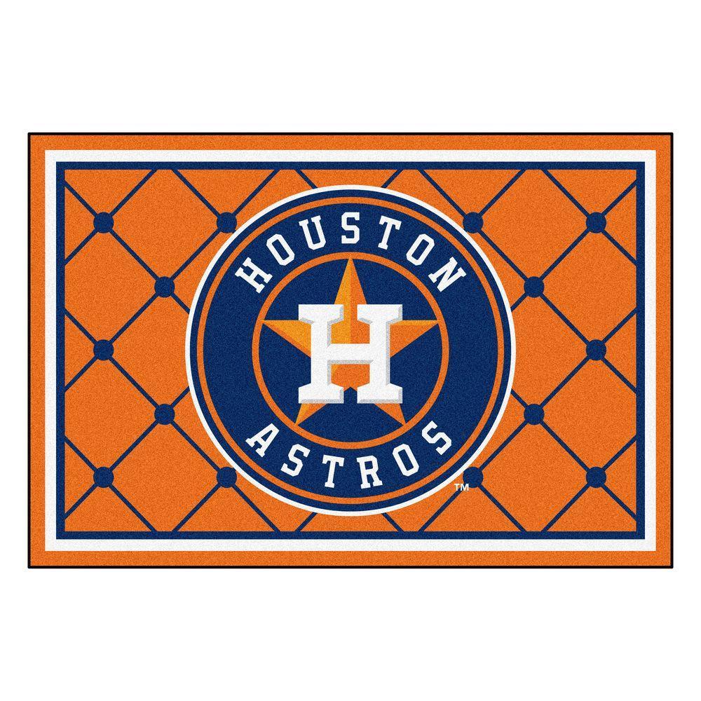 Houston Astros 5 ft. x 8 ft. Area Rug