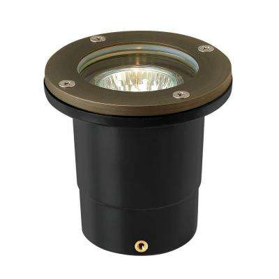 Low-Voltage 20-Watt Matte Bronze Hardy Island In-Ground Outdoor Well Light
