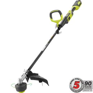 Ryobi 40-Volt Lithium-Ion Cordless Attachment Capable String Trimmer - 2.6 Ah Battery and Charger Included by Ryobi