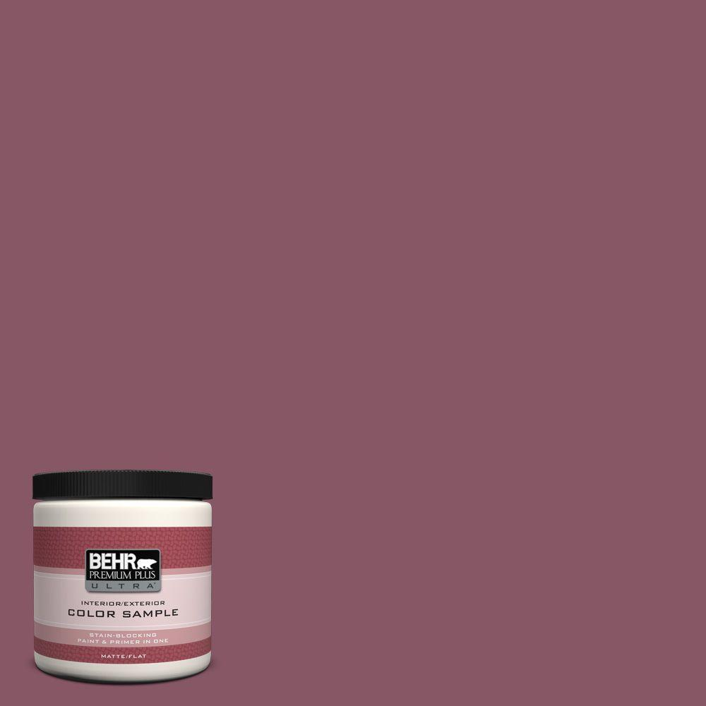 BEHR Premium Plus Ultra 8 oz. #100D-6 Rose Garland Interior/Exterior Paint Sample