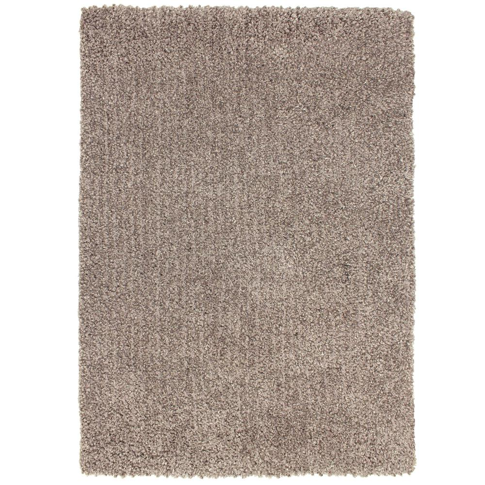 Surya tranquil taupe 8 ft x 10 ft area rug tql1007 810 the home depot - Cozy white shag rug for the comfortable steps sensation ...