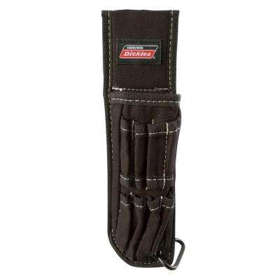 5-Pocket Large Pliers Pouch and Small Tool Holder, Black