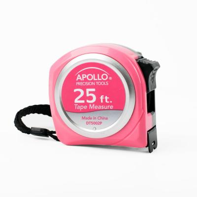 25 ft. Tape Measure in Pink