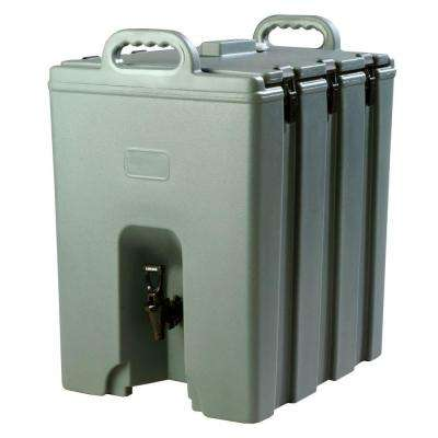 Insulated 10 gal. Beverage Server with Nylon Latch in Slate (Greyish) Blue