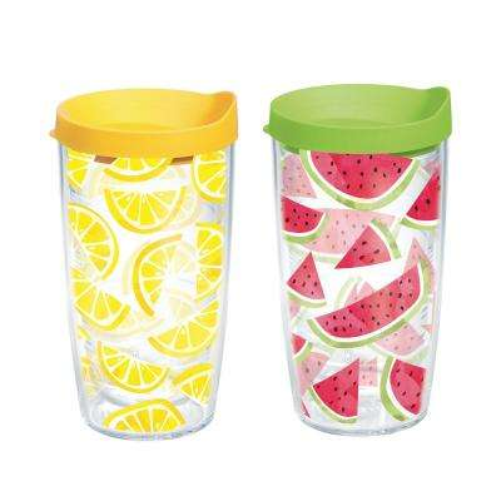 Lemon Watermelon Trend 16 Oz Tumbler