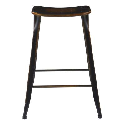 "Durham 26"" Counter Stool in Antique Copper - 2 Pack"