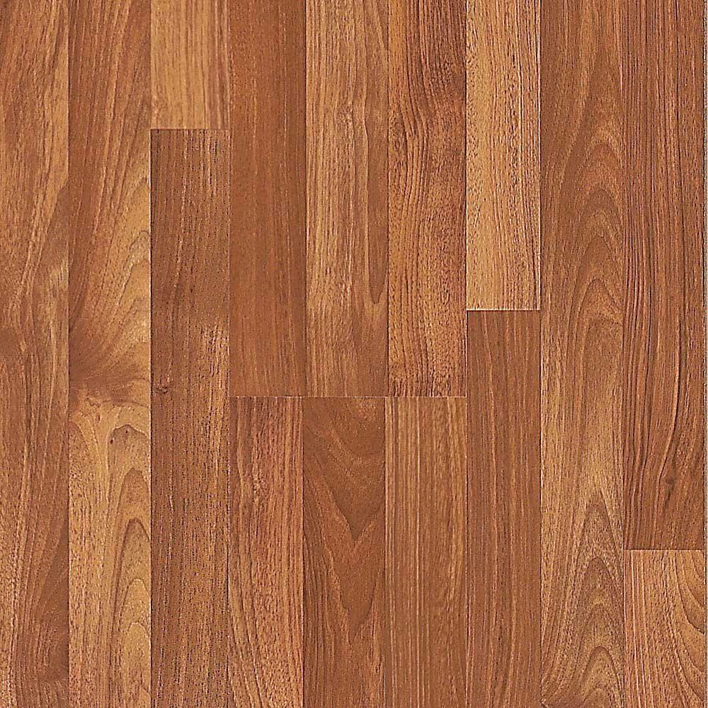 Pergo Presto Virginia Walnut 8 mm Thick x 7-5/8 in. Wide x 47-1/2 in. Length Laminate Flooring (964.8 sq. ft. / pallet)