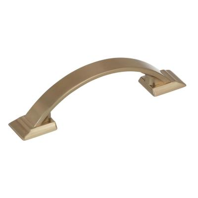 Candler 3 in (76 mm) Center-to-Center Golden Champagne Cabinet Drawer Pull