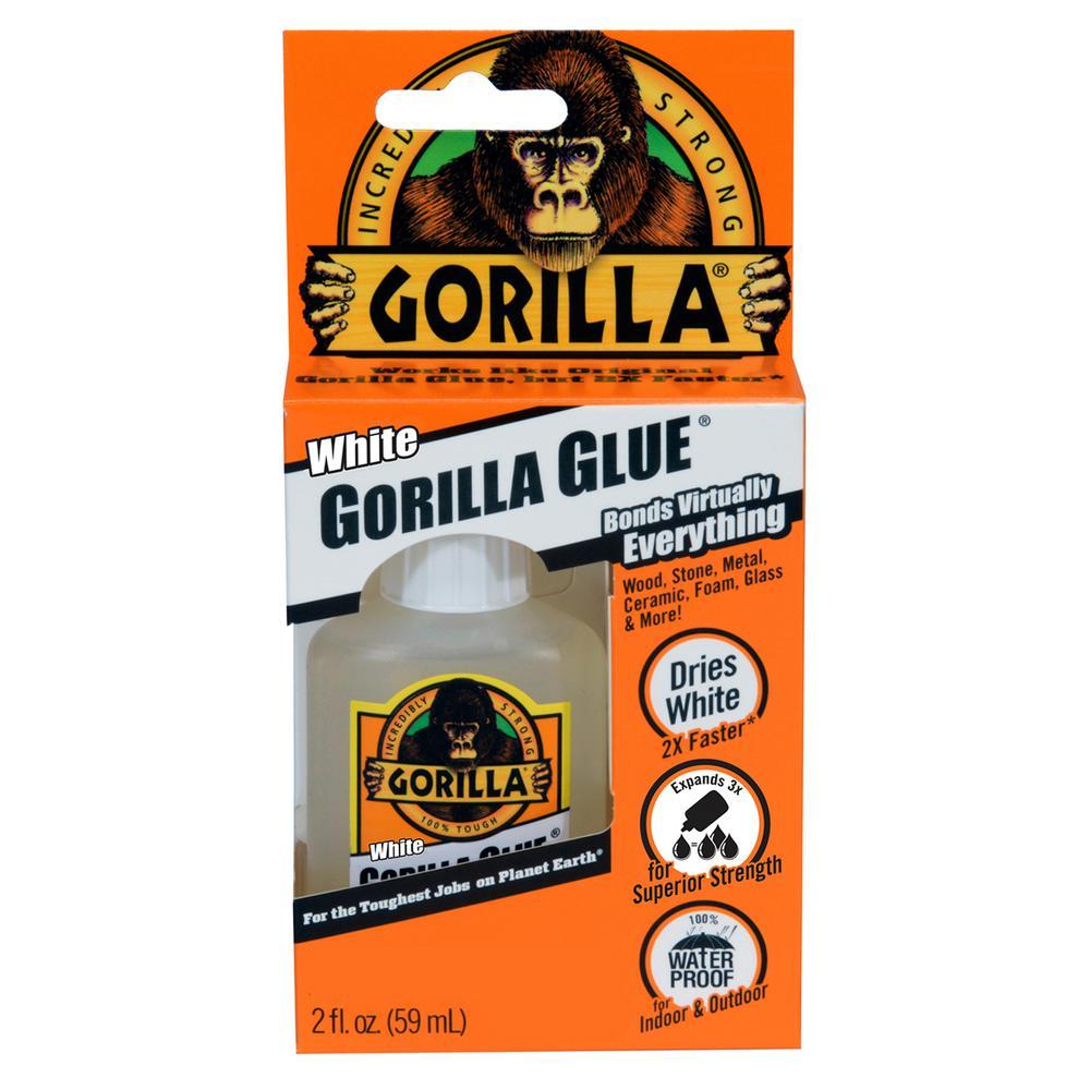 Gorilla 2 Fl Oz White Glue 52012 The Home Depot