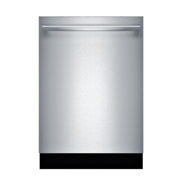 Bosch 800 Series Top Control Tall Tub Bar Handle Dishwasher in Stainless Steel with Stainless Steel Tub, CrystalDry, 40dBA